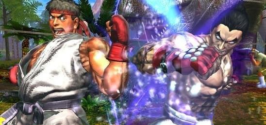《街头霸王对铁拳》版本更新采用DLC