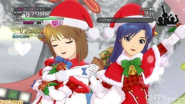 《偶像大师2》美少女圣诞换装视频放出