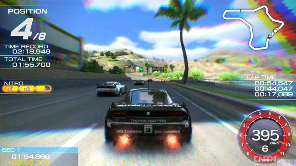 《山脊赛车Vita》最新宣传片 展示靓丽画面