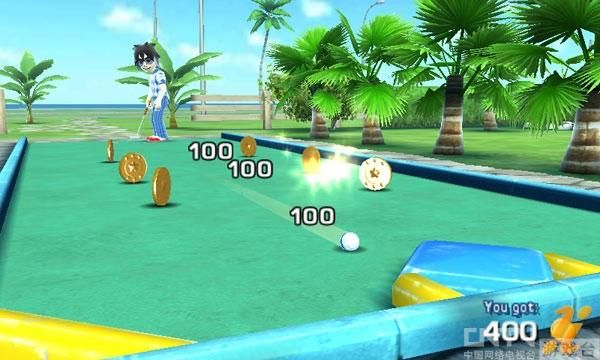 3DS新作《迷你高尔夫!触摸》公开