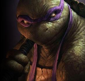 美国硬朗派魔幻艺术画赏 你从未见过的忍者神龟