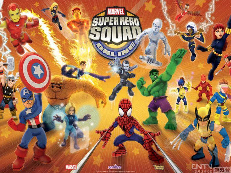 版marvel网游超级英雄小队用户数达百万