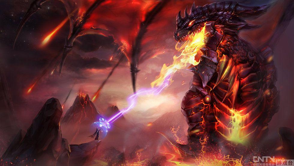 黑龙兽人图片_《魔兽》电影360浏览器赶赴十年之约