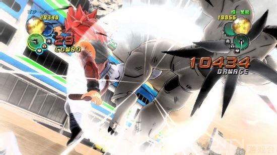 最新截图 《龙珠:终极天下》 超级赛亚人/