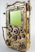 蒸汽朋克风格Gameboy游戏机