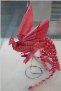 从螳螂松鼠到凤凰天鹅 超神奇折纸作品鉴赏(二)