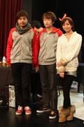 知名电竞MM吴语晴身现ECL2011颁奖典礼