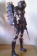 """《生化奇兵2》3个月打造的""""大老姐""""精美模型"""