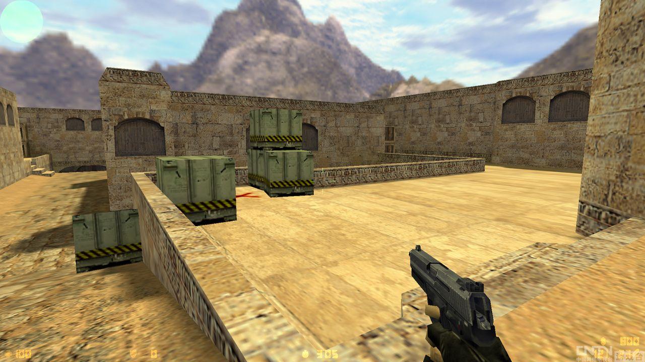 势将取代CS1.6《CS:GO》Dust2地图与前两代大比较