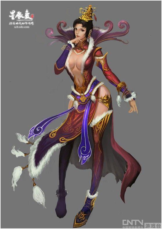 千年白狐化形登场 星辰变美丽妖狐神秘出没