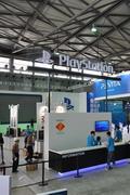 2012年第十届China Joy厂商展台搭建现场