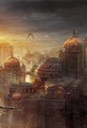 从现代穿越至玄幻 国人画师阮佳画作赏