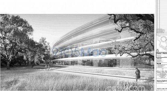 令人惊叹:苹果新总部大量设计图曝光