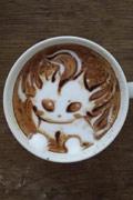 这样的咖啡你舍得喝么?拿铁艺术家作品赏