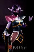 DOTA2美女英雄圣堂刺客灵感抓拍 粉猴出品