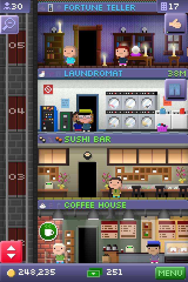 模拟经营益智游戏 微型摩天塔_游戏