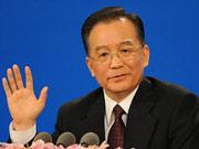 2008年总理会见中外记者