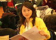 中国网络电视台记者在直播现场