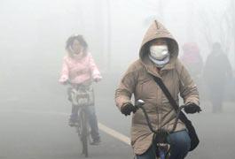"""PM2.5是造成灰霾天气的""""元凶 """"之一"""