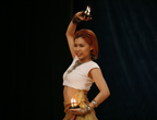 泰国选手白美婷表演舞蹈《蜡烛》