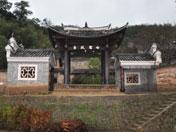 赣县白鹭村戏台