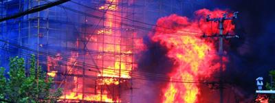 <font color=blue>追问一、高层建筑灭火难在哪里?</font>