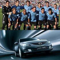 乌拉圭国家队属于第一届世界杯足球赛的冠军队伍,自第一届世界杯夺冠之后就默默无闻,但是实力不可低估。一汽马自达睿翼也一样,虽然没有马自达6那样辉煌的销售量,但是未来市场同样不可低估。