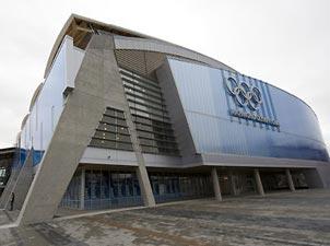 里士满奥林匹克馆<br>比赛项目:速度滑冰