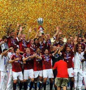 <center><h4>意大利超级杯:米兰逆转国米夺冠</h4></center>