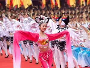 [高清组图]2012年湖南省公祭舜帝大典(三)