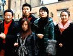 意大利博洛尼亚华人华侨留学生拜年