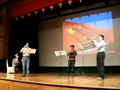留学生表演《三个小号》钢琴伴奏