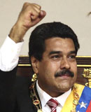<br><br>Nicolás Maduro, presidente de Venezuela