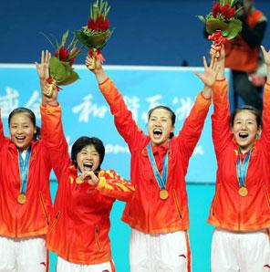 女排:中国惊天逆转韩国 亚运四连冠