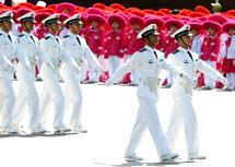 海军学员方队