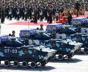 空降兵战车方队