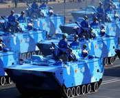 海军陆战队战车方队