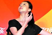 刘岩复出轮椅上即兴大秀舞姿 张艺谋视频送祝福