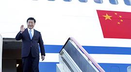 习近平出访四国并参加G20及上合组织峰会