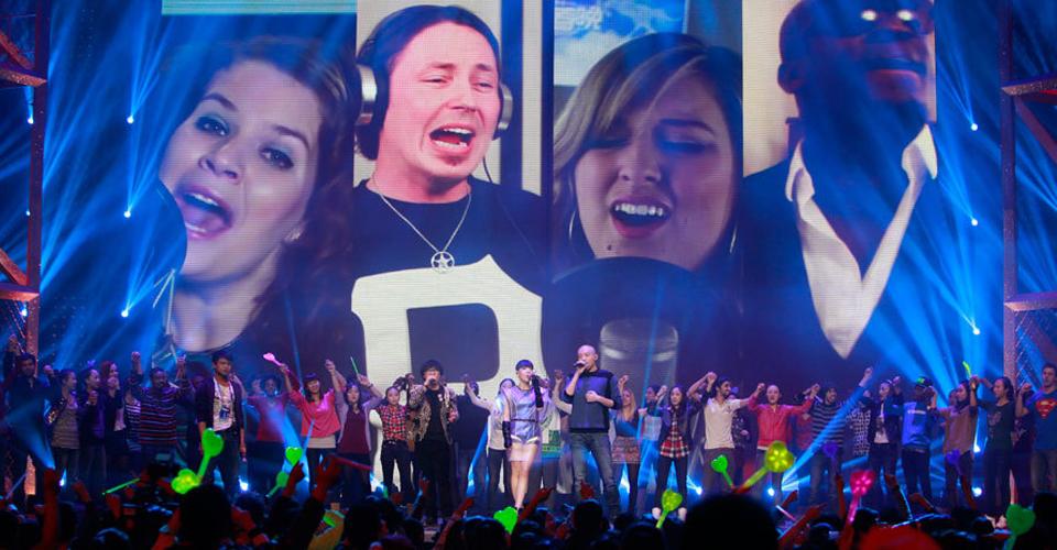 Певцы в Гала-концеруе онлайн 2014
