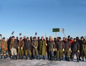 达里诺尔的渔民们