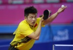 [高清组图]亚青赛乒乓球男单 樊振东轻松取胜