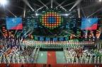 [高清组图]第二届亚洲青年运动会在南京落下帷幕