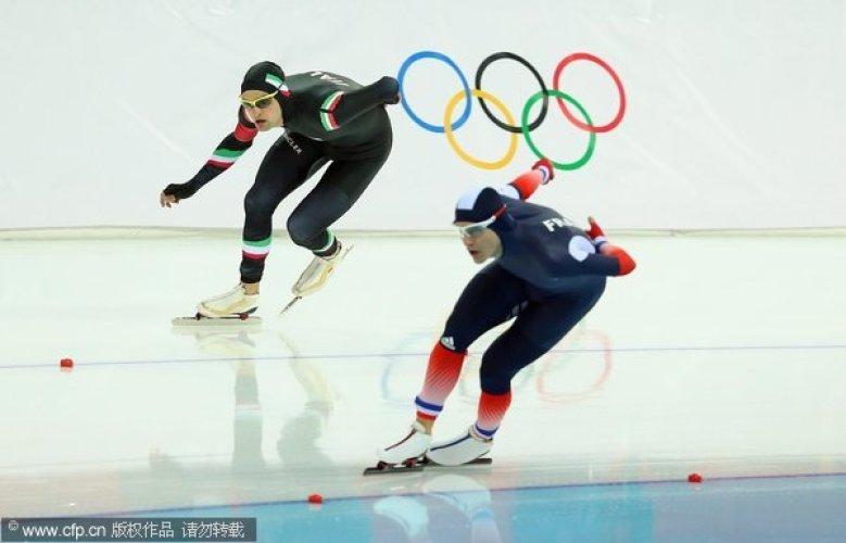[高清组图]2014索契冬奥会 速度滑冰男子5000米