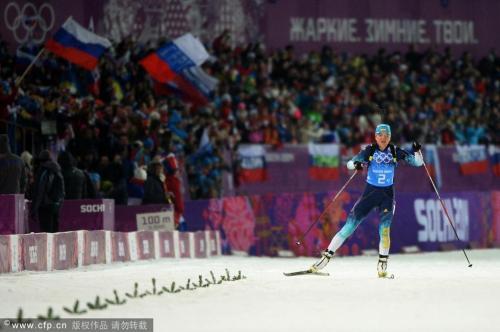 [高清组图]冬季两项女子4x6公里 乌克兰夺冠