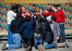 [高清组图]西班牙队入驻集训营备战巴西世界杯