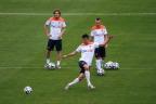 [高清组图]荷兰队赛前训练 范佩西罗本齐上阵