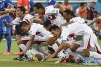 [高清组图]淘汰赛 哥斯达黎加队首次闯入八强
