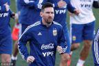 [高清組圖]9個月后終回歸!梅西參加阿根廷隊訓練