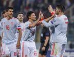 [高清組圖]歐預賽-莫拉塔梅開二度 西班牙2-0